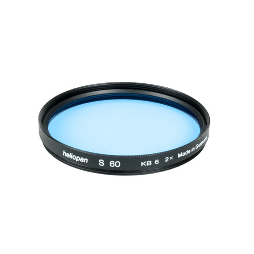 Heliopan 60mm KB6 (80C) Cooling Color Conversion Glass Filter