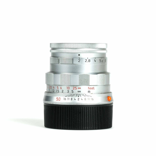 """Pre-Owned Leica 50mm f2 Summicron-M """"50th Anniversary"""" #3952389"""