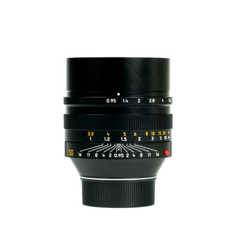 Pre-Owned Leica 50mm Noctilux-M #4704924