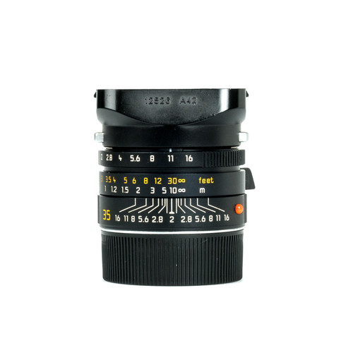 Pre-Owned Leica 35mm f2 Summicron-M ASPH #3861618