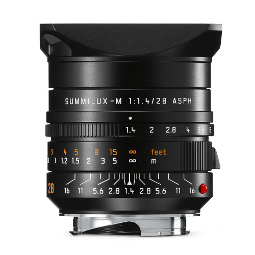 Leica Summilux-M 28mm f/1.4 ASPH, Black Anodized