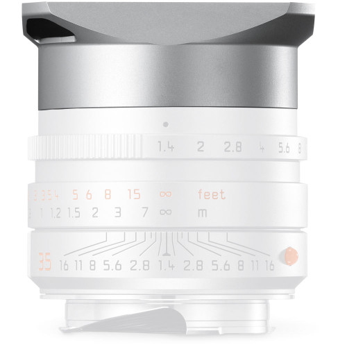 Leica Hood for 35mm f/1.4 ASPH, Silver