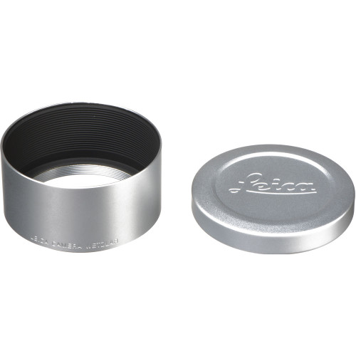 Leica Hood for 75mm f/2.4 and 90mm f/2.4, Silver