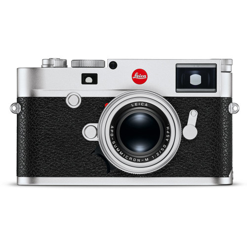 Leica M10, Silver Chrome Body