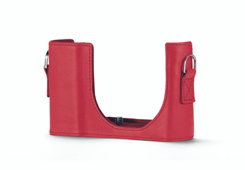 C-Lux Protector, leather, red