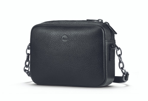 C-Lux Handbag 'Andrea', leather, black