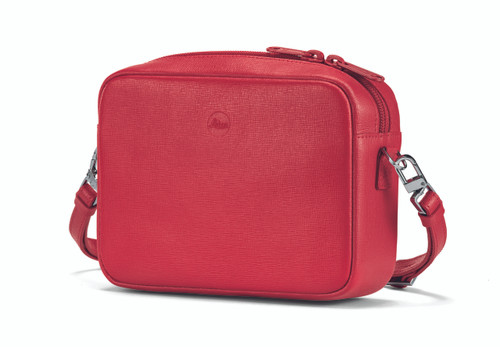 C-Lux Handbag 'Andrea', leather, red