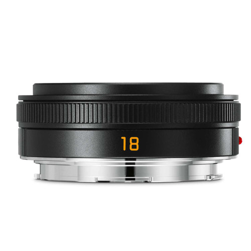 Leica 18mm f2.8 Elmarit-TL Asph, Black