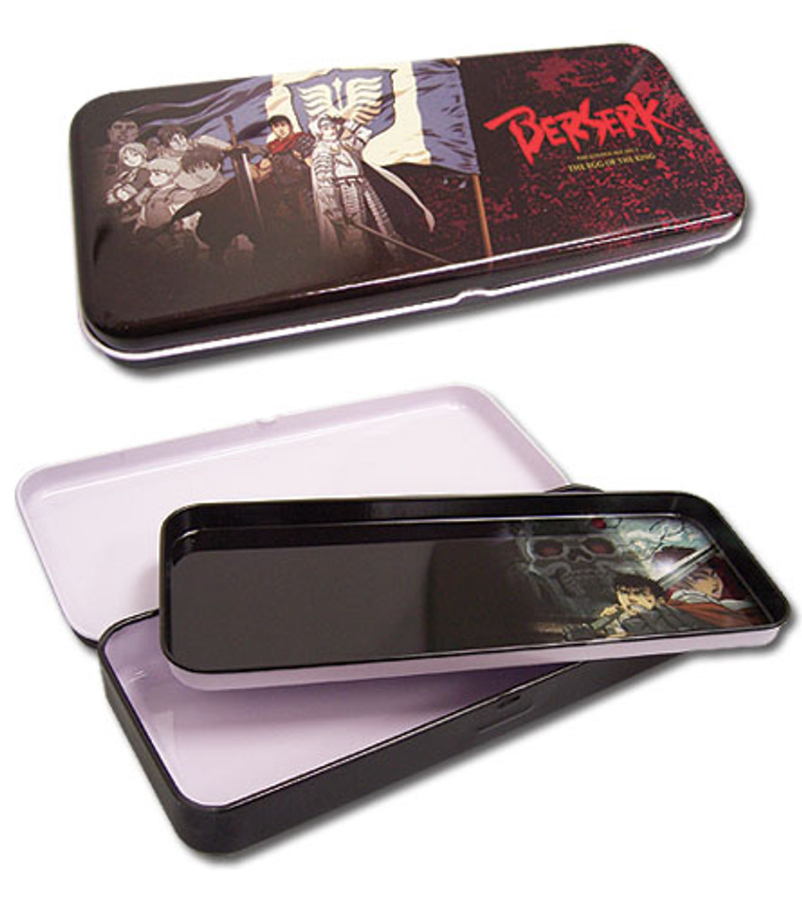 Berserk Band Of The Hawk Tin Pencil Case 4901518BAS
