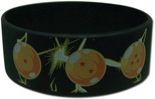 Dragon Ball Z - 7 Dragon Balls Pvc Wristband 5430818BAS