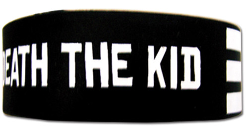 Soul Eater - Death The Kid Stripe Wristband 5416518BAS