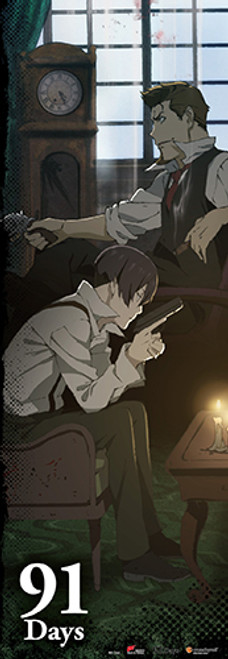 91 Days - Key Art Human Size Wall Scroll 8129618BAS