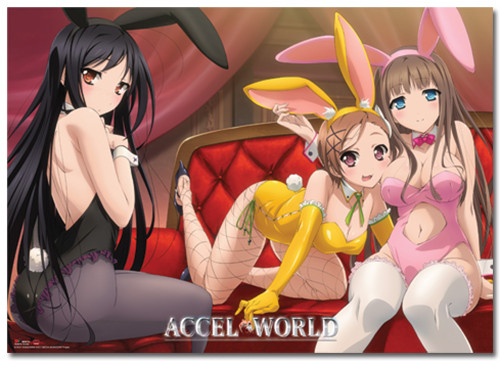 Accel World Bunny Girls Wallscroll 6013118BAS