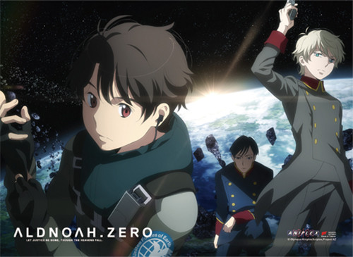 Aldnoah Zero - Group 01 Wall Scroll 8653618BAS