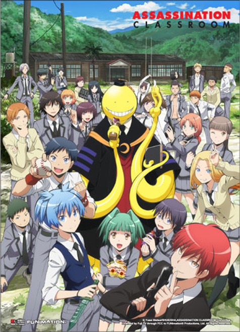 Assasination Classroom - Key Art 1 Wall Scroll 8637418BAS