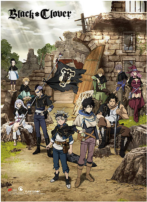 Black Clover - Key Art Wall Scroll 8690618BAS