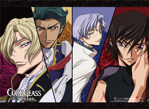 Code Geass - Group 04 Wall Scroll 8678418BAS