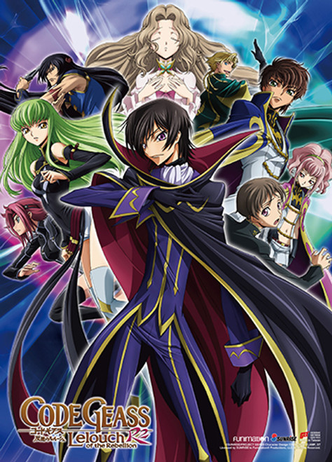 Code Geass - Key Art 1 Wall Scroll 8684018BAS