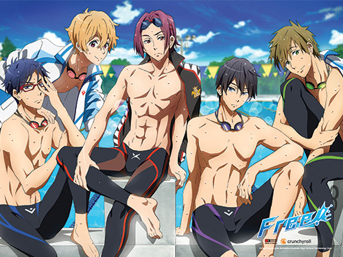 Free - After Swimming Wall Scroll 6096318BAS