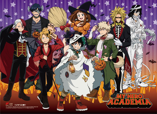My Hero Academia - S2 Halloween Group Wall Scroll 8694618BAS