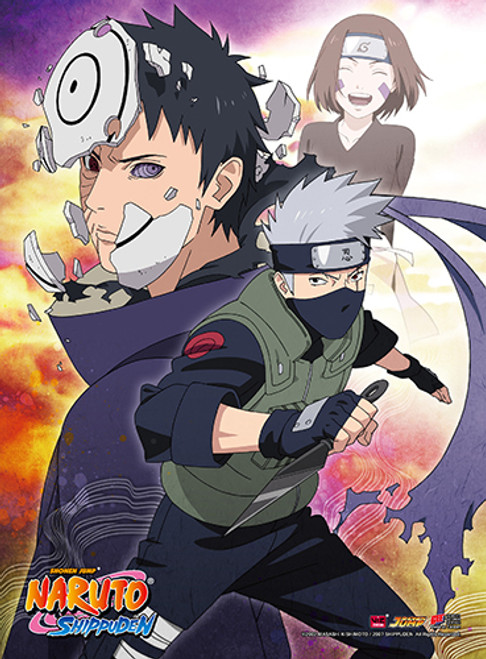 Naruto Shippuden - Kakashi High-end Wall Scroll 8142218BAS