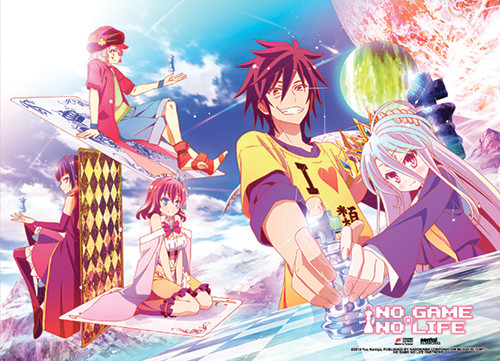 No Game No Life - Chess Wall Scroll 6098518BAS