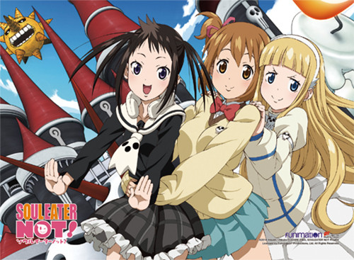 Soul Eater Not! - Group 2 High-end Wall Scroll 8136618BAS