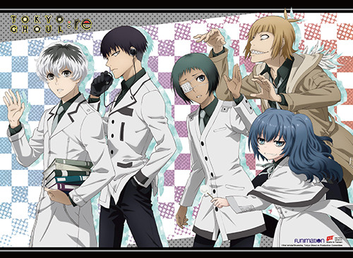 Tokyo Ghoul - Group D Wall Scroll 2702618BAS