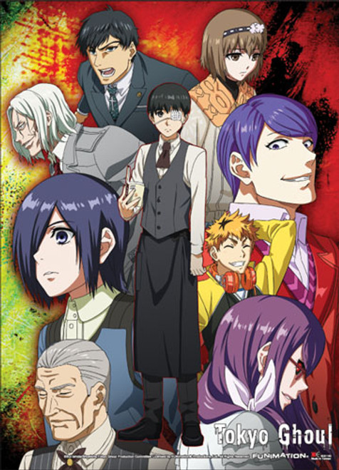Tokyo Ghoul - Group 01 Special Edition Wall Scroll 8116218BAS