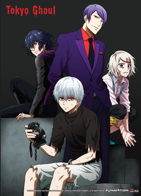 Tokyo Ghoul - Group 03 Special Edition Wall Scroll 8116418BAS