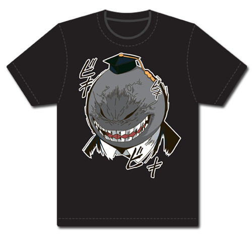 Assassination Classroom - Angry Koro Sensei Screenprint T-Shirt L 89943318BAS