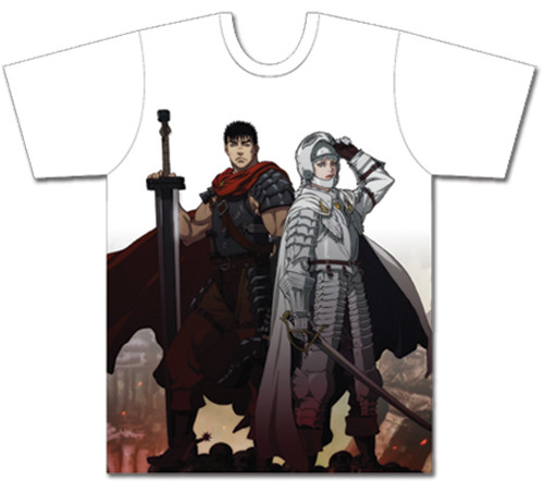Berserk - Guts And Griffith Mens Sublimation T-Shirt XL 83309418BAS