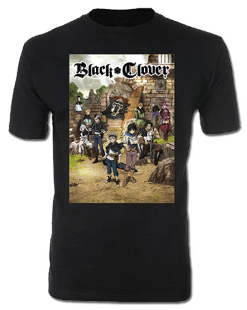 Black Clover - Key Visual Men's T-Shirt L 25387318BAS