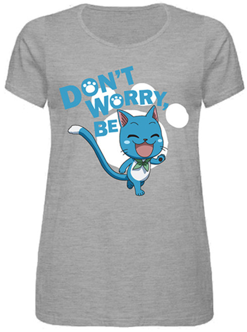 Fairy Tail - Don't Worry Be Happy Plus Size T-Shirt M 25175218BAS