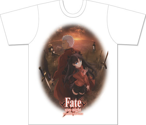 Fate/stay Night - Archer - Rin Men's Sublimation T-Shirt XXL 83471518BAS