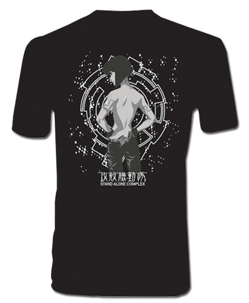 Ghost In The Shell - Motoko Men's Screen Print T-Shirt L 90452318BAS