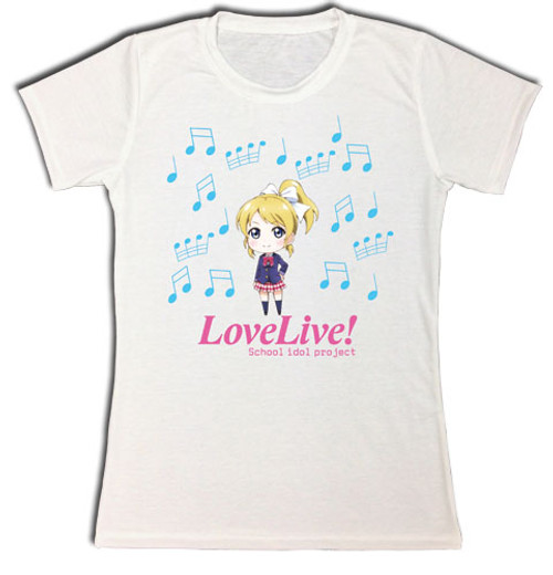 Love Live! - Eli Jrs. Sublimation T-Shirt S 83103118BAS