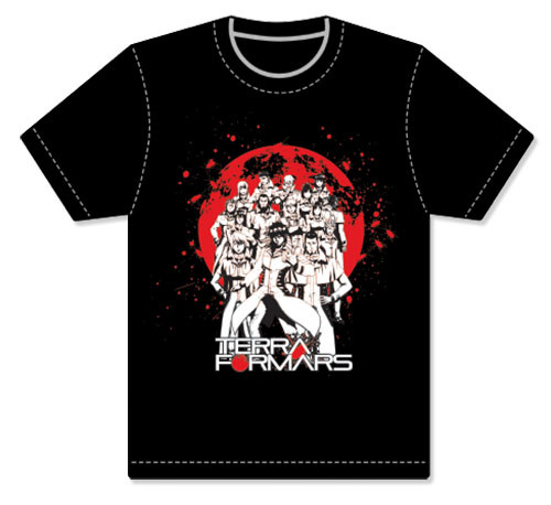 Terra Formars - Group Men's Screen Print T-Shirt S 90148118BAS