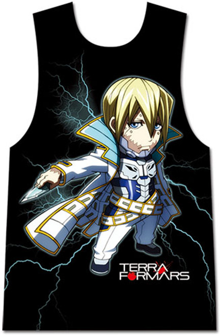 Terra Formars - Adolf Sd Sublimation Muscle Shirt L 83431318BAS
