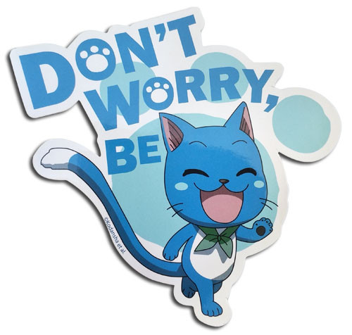 Fairy Tail - Don't Worry Be Happy Sticker 5569318BAS