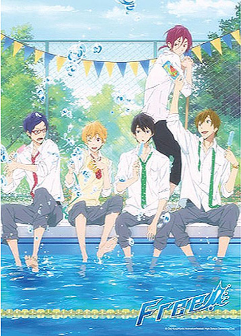 Free! - Boys Cooling Off 300 Pcs Jigsaw Puzzle 5309718BAS