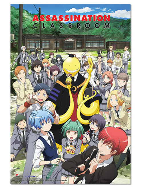 Assassination Classroom - Group Paper Poster 6704118BAS