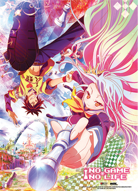 No Game No Life - Key Visual Fabric Poster 7935418BAS