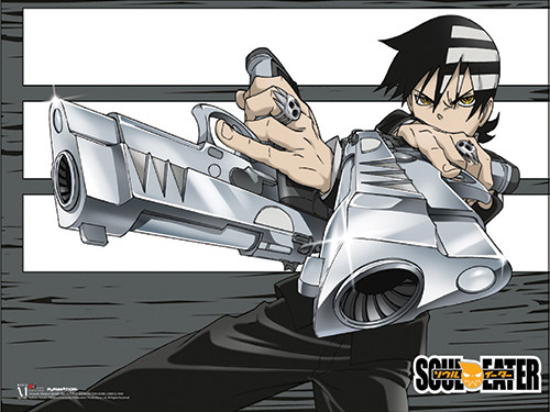 Soul Eater - Death The Kid Paper Poster 7923518BAS