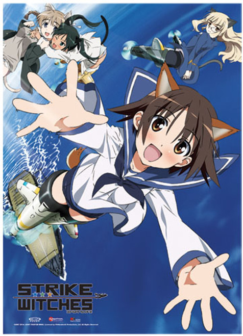 Strike Witches Crew Fabric Poster 7751518BAS