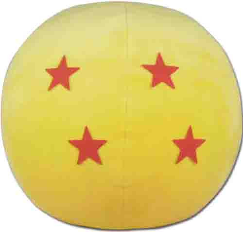 "Dragon Ball Z - 4 Star Dragonball Plush 10"" 5669518BAS"