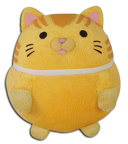 Great Eastern - Chubby Cat White Plush 5''h 5232918BAS