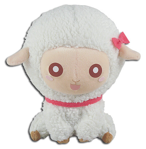 Great Eastern - White Sitting Sheep 5'' Plush 5353818BAS