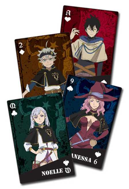 Black Clover - Group Playing Cards 5168818BAS