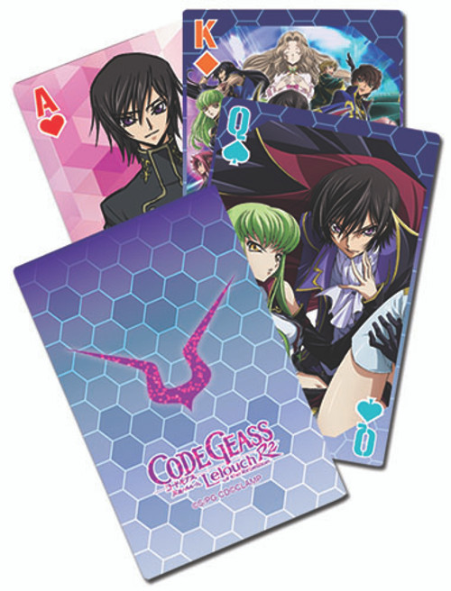 Code Geass - Big Group Playing Cards 5167418BAS